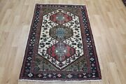 Old Handmade Persian Tribal Rug 155 X 105 Cm Hand Knotted Wool Rug
