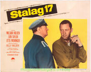 Stalag 17 Lobby Card 11x14 Size Very Fine Movie Poster William Holden Card 4