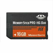 16gb Memory Stick Ms Pro Duo Storage Card For Sony Psp