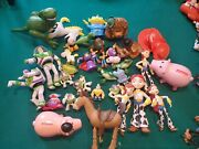 Toy Story Lot Of Toys Buzz Lighter Woody Jessie Robot Lotso Action Figures