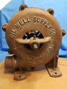 Rare Vintage Belt Driven Air Blower No 3 Made By Oil Well Supply Company Pa