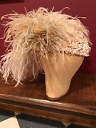 Antique And Vintage Hat Collection. 17 Hats And 1 Milliner Head.