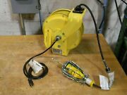 Conductix 25 Ft. Electric Cord Reel W/ Incandescent Hand Lamp 121160302513