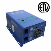 3000 Watt Pure Sine Inverter Charger - Etl Listed Conforms To Ul458 / Csa 22....