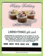 Linens-n-things Happy Birthday Cup Cakes 2004 Gift Card 0 V2