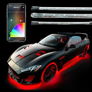 18pc Underglow + Interior Led Accent Light Kits For Cars Xkchrome Smartphone App