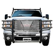 57-3780 Westin Grille Guard New Polished For Chevy Chevrolet Silverado 2500 Hd