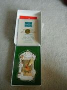 Disney Collectors Society Winnie The Pooh And The Honey Tree 1996 Ornament Wdcc