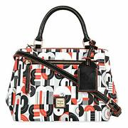 Mickey And Minnie Mouse Geometric Satchel By Dooney And Bourke
