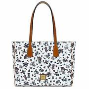 Mickey And Minnie Mouse Americana Tote Bag By Dooney And Bourke