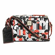 Mickey And Minnie Mouse Geometric Crossbody Bag By Dooney And Bourke