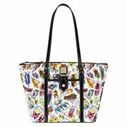 Disney Ink And Paint Tote By Dooney And Bourke Scene From Splash Mountain Ride