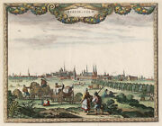 Berlin General View Original Copperplate P.protection 1652