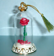 Lenox Disney Beauty And The Beast Rose Ornament Enchantment New In Box