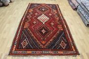 Antique Handmade Persian Tribal Rug 290 X 155 Cm Hand Knotted Wool Rug