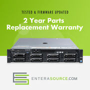 Dell Poweredge R730 2x E5-2620 V3 2.4ghz 6c 128gb 8x 300gb 15k 6g Sas H730
