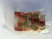 2015 Lest We Forget Coloured 2 Coin Security Bag Rare Remembrance 2