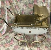 Vintage Welsh Doll Pram Buggy Stroller, Newborn Baby Photography Prop Ship Avail