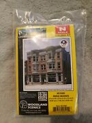 Woodland Scenics 51500 N-scale Reed Books Building Kit Authentic, Easy Assembly