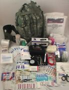 Level 3 Military First Aid Survivor Tactical Trauma Medical Emergency Kit New