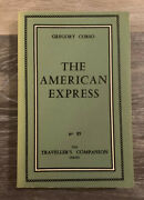 The American Express By Gregory Corso Vintage 1961, N85, No Dj, Rare, Htf