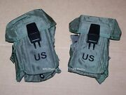 2 New Pouch Ammo Magazine Lc-1 Alice Usa Military Usmc Army 30rd Small Arms Case