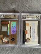 2004 Leaf Certified Cut Cal Ripken Bat And Auto And Limited Lumberjack Auto/jersey