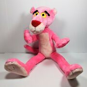 1996 United Artists Picture 22 Plush Pink Panther Large Bendable Poseable Toy