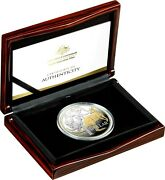Australia Mob Of Roos 2020 1 5oz Selectively Gold Plated Silver 1000 Made