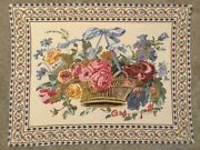 Sale Approx 27andrdquox 35andrdquo Floral Vase Tapestry Wall Art Belgium