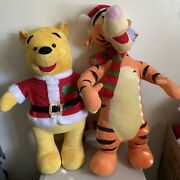 Disney Winnie The Pooh Tigger Porch Buddy Greeters Collectible Christmas 30