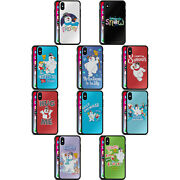 Frosty The Snowman Movie Key Art Black Hybrid Glass Back Case For Iphone Phones