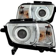 121311 Anzo Headlight Lamp Driver And Passenger Side New For Chevy Lh Rh Camaro