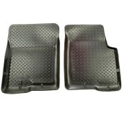31601 Husky Liners Floor Mats Front New Black For Chevy Olds S10 Pickup Truck