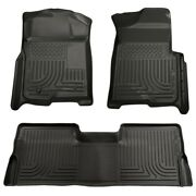 98331 Husky Liners Floor Mats Front New Black For F150 Truck Ford F-150 09-14