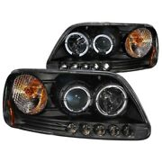 111031 Anzo Headlight Lamp Driver And Passenger Side New For F150 Truck Lh Rh Ford