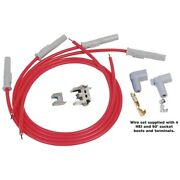 31189 Msd Set Of 4 Spark Plug Wires New For F350 Truck Ltd Mustang Suburban