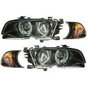121269 Anzo Headlight Lamp Driver And Passenger Side New For 323 325 328 330 Lh Rh