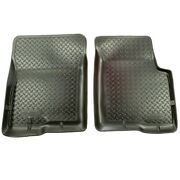 32311 Husky Liners Floor Mats Front New Black For Chevy Olds S10 Pickup Blazer