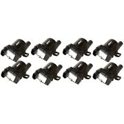 55098 Msd Set Of 8 Ignition Coils New For Chevy Avalanche Express Van Suburban