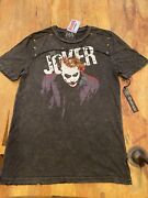 Super Rare Ds Brand New Salvage Manandrsquos Joker Tee In Size Med. Limited Edition