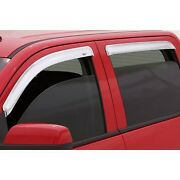 684252 Ventshade Window Visors Set Of 4 Front And Rear Driver Passenger Side New