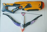 Nerf Dart Tag Blaster Swarmfire Battery Operated And Rebelle Bow Tested