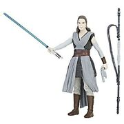 Star Wars Rei Jedi Training Total Length Of About 10cm Painted Action Figure F/s