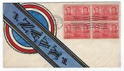 791 Navy Decatur Mcdonough Fdc - Mcintyre Hand Painted Ace Artist