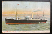 1907 Strathcona Canada Picture Postcard Cover To Banbridge Ireland Ss Lake Erie