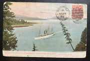 1905 Winnipeg Canada Picture Postcard Cover To France Ss Empress Of China