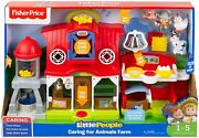 Fisher Price Little People Caring For Animals Farm Set Pig Horse Cow Chicken