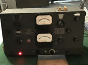 Boonton Radio Type 260a Vintage Test Equipment Q Meter 50kc-50mc Powers On As-is