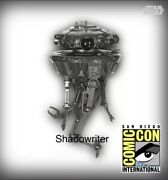 2020 Sdcc Hallmark Excl. Keepsake Ornament Star Wars Imperial Probe Droid Le3200